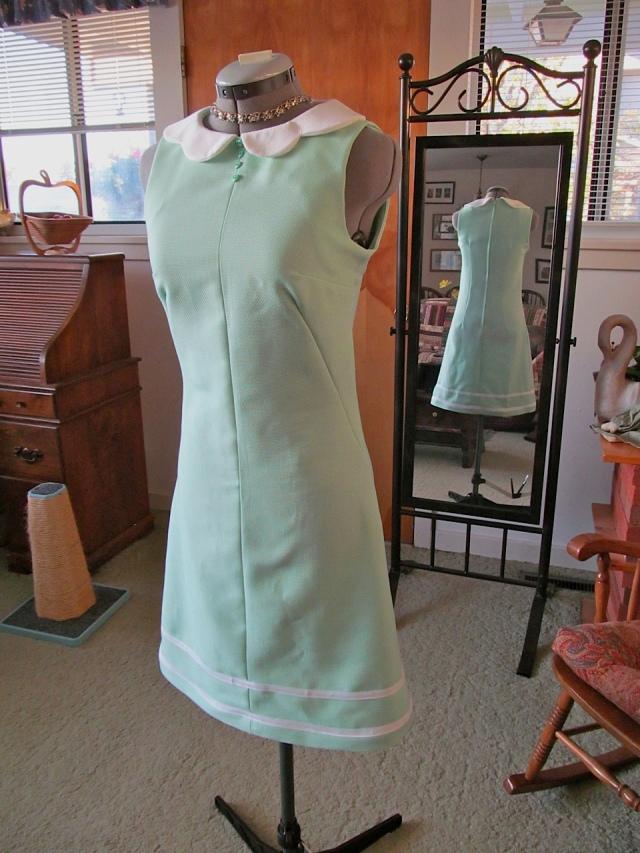 Lime Fizz 60's Dress