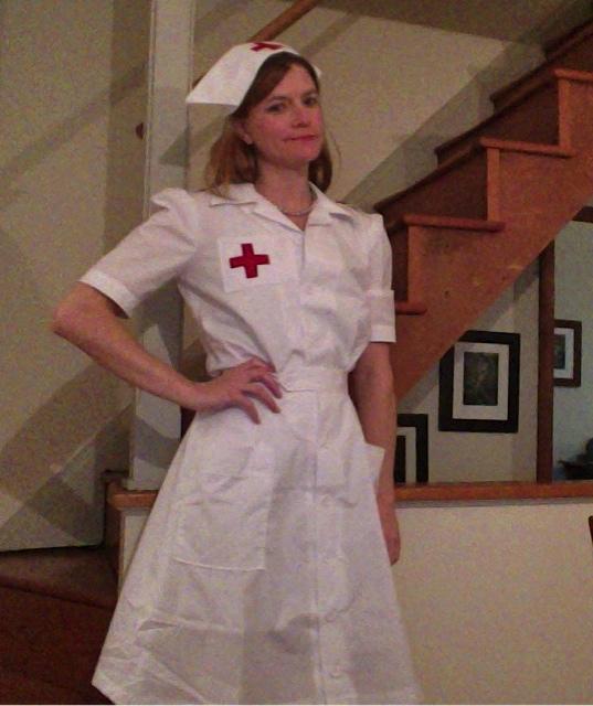 Vintage Nurse Outfit